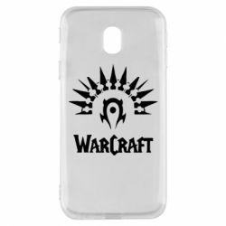 Чехол для Samsung J3 2017 WarCraft Logo