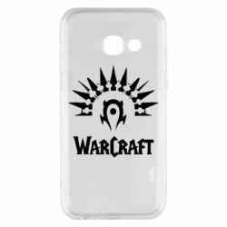 Чехол для Samsung A3 2017 WarCraft Logo