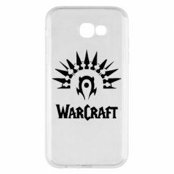 Чехол для Samsung A7 2017 WarCraft Logo