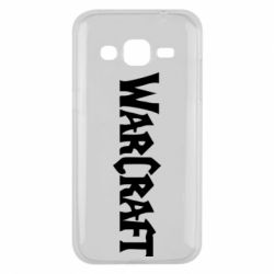 Чехол для Samsung J2 2015 WarCraft - FatLine