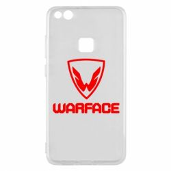 Чехол для Huawei P10 Lite Warface Logo - FatLine