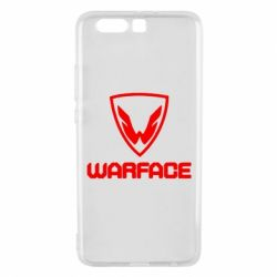 Чехол для Huawei P10 Plus Warface Logo - FatLine