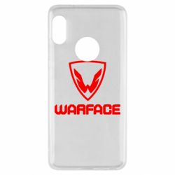 Чехол для Xiaomi Redmi Note 5 Warface Logo - FatLine