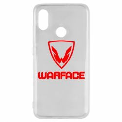 Чехол для Xiaomi Mi8 Warface Logo - FatLine