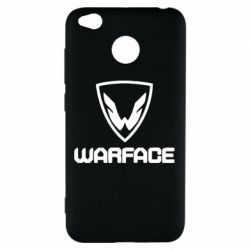 Чехол для Xiaomi Redmi 4x Warface Logo - FatLine