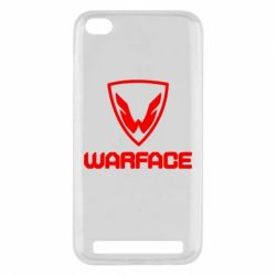 Чехол для Xiaomi Redmi 5a Warface Logo - FatLine