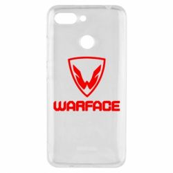 Чехол для Xiaomi Redmi 6 Warface Logo - FatLine
