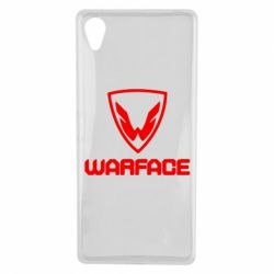 Чехол для Sony Xperia X Warface Logo - FatLine