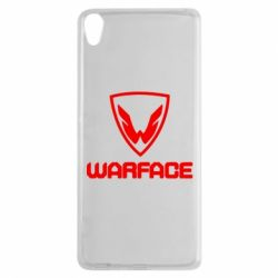 Чехол для Sony Xperia XA Warface Logo - FatLine