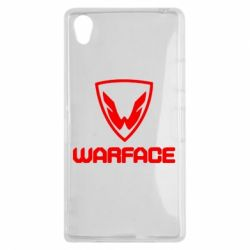 Чехол для Sony Xperia Z1 Warface Logo - FatLine