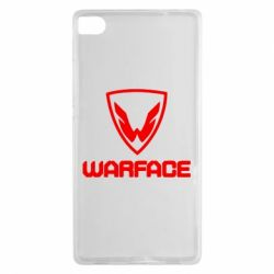 Чехол для Huawei P8 Warface Logo - FatLine