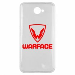 Чехол для Huawei Y7 2017 Warface Logo - FatLine