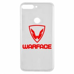Чехол для Huawei Y7 Prime 2018 Warface Logo - FatLine