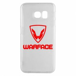 Чехол для Samsung S6 EDGE Warface Logo - FatLine