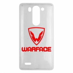 Чехол для LG G3 mini/G3s Warface Logo - FatLine