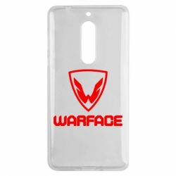Чехол для Nokia 5 Warface Logo - FatLine