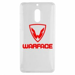 Чехол для Nokia 6 Warface Logo - FatLine