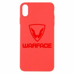 Чехол для iPhone Xs Max Warface Logo - FatLine