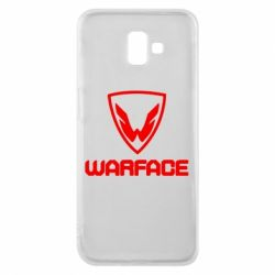 Чехол для Samsung J6 Plus 2018 Warface Logo - FatLine
