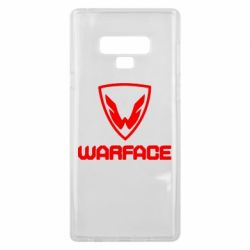 Чехол для Samsung Note 9 Warface Logo - FatLine