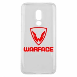 Чехол для Meizu 16 Warface Logo - FatLine