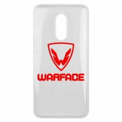 Чехол для Meizu 16 plus Warface Logo - FatLine