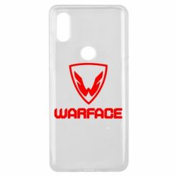 Чехол для Xiaomi Mi Mix 3 Warface Logo - FatLine