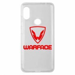 Чехол для Xiaomi Redmi Note 6 Pro Warface Logo - FatLine