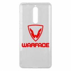 Чехол для Nokia 8 Warface Logo - FatLine