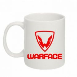 Кружка 320ml Warface Logo - FatLine