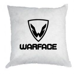 Подушка Warface Logo - FatLine