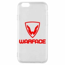 Чехол для iPhone 6/6S Warface Logo - FatLine