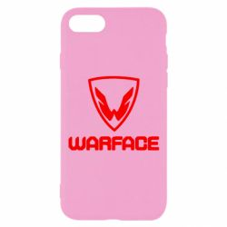 Чехол для iPhone 7 Warface Logo - FatLine