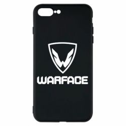 Чехол для iPhone 7 Plus Warface Logo - FatLine