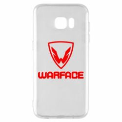 Чехол для Samsung S7 EDGE Warface Logo - FatLine