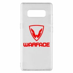 Чехол для Samsung Note 8 Warface Logo - FatLine