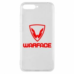 Чехол для Huawei Y6 2018 Warface Logo - FatLine