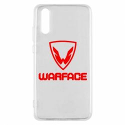 Чехол для Huawei P20 Warface Logo - FatLine