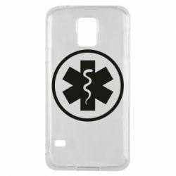Чохол для Samsung S5 Warface: medic