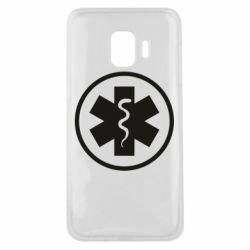 Чохол для Samsung J2 Core Warface: medic