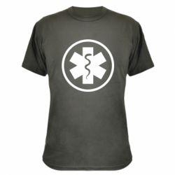 Камуфляжна футболка Warface: medic