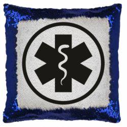 Подушка-хамелеон Warface: medic