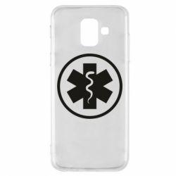 Чохол для Samsung A6 2018 Warface: medic