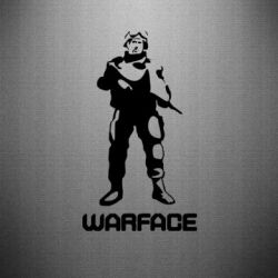Наклейка Warface - FatLine