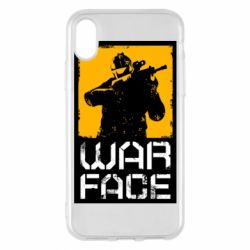 Чохол для iPhone X/Xs Warface