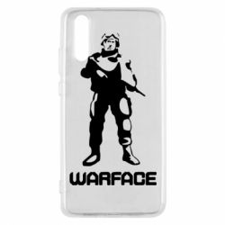 Чехол для Huawei P20 Warface - FatLine