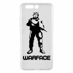 Чехол для Huawei P10 Plus Warface - FatLine