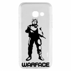 Чехол для Samsung A3 2017 Warface - FatLine