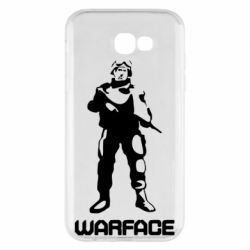 Чехол для Samsung A7 2017 Warface - FatLine