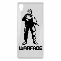 Чехол для Sony Xperia X Warface - FatLine